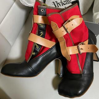 ヴィヴィアンウエストウッド(Vivienne Westwood)のワールズエンド最終モデル アニマルトゥ ボンデージ ブーツ (ブーツ)