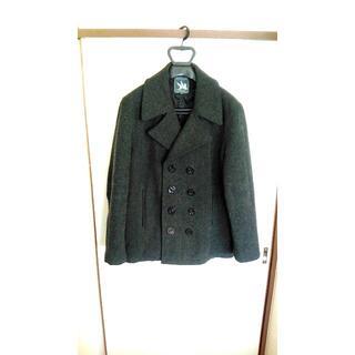 ショット(schott)のSPIWAK スピワック ピーコート Pコート ウールジャケット L XL 美品(ミリタリージャケット)