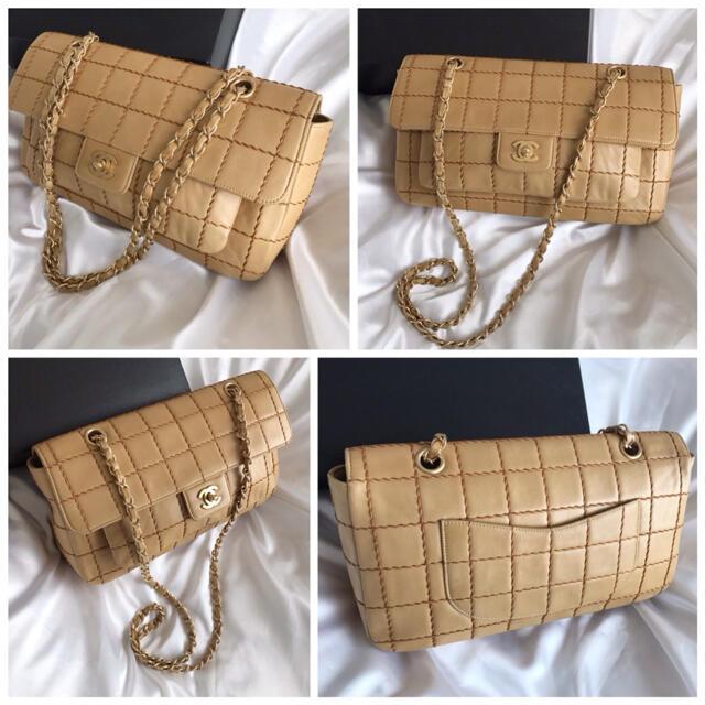CHANEL(シャネル)のカンナ様専用♡シャネル CHANEL チョコバー  チェーンショルダーバッグ  レディースのバッグ(ショルダーバッグ)の商品写真
