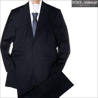 ドルチェアンドガッバーナ(DOLCE&GABBANA)のJ5186 美品 ドルチェ&ガッバーナ スーツ ブラック 44(セットアップ)