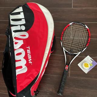 ウィルソン(wilson)のwilson テニスラケット&バック&テープ(ラケット)