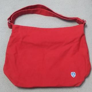オーシバル(ORCIVAL)のORCIVAL 帆布 肩かけバッグ 赤(ショルダーバッグ)