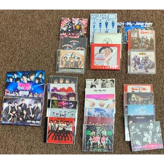 キスマイフットツー(Kis-My-Ft2)のKis-My-Ft2シングルアルバムCDセット(アイドルグッズ)