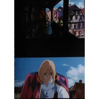 ジブリ(ジブリ)のジブリ☆ハウルの動く城☆フィルムブックマーカー40(その他)