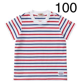 ミキハウス(mikihouse)の『新品』ミキハウス人気半袖ボーダーTシャツ100サイズ(Tシャツ/カットソー)