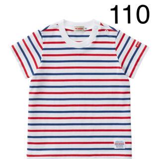 ミキハウス(mikihouse)の『新品』ミキハウス人気半袖ボーダーTシャツ110サイズ(Tシャツ/カットソー)