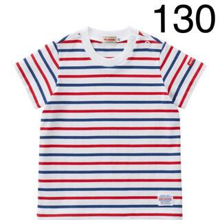 ミキハウス(mikihouse)の『新品』ミキハウス人気半袖ボーダーTシャツ130サイズ(Tシャツ/カットソー)