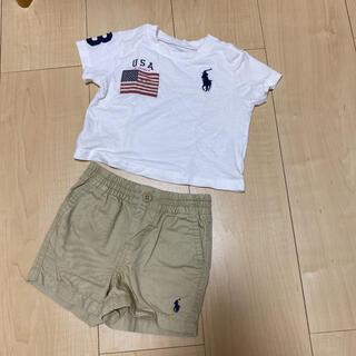 ラルフローレン(Ralph Lauren)のTシャツ ショートパンセット(Tシャツ)