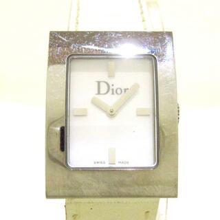 クリスチャンディオール(Christian Dior)のディオール 腕時計 マリススクエア D78-109(腕時計)