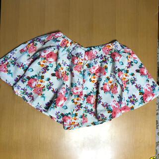 シマムラ(しまむら)の♪M:しまむら、Sorridere:花柄ミニキュロットスカート(キュロット)