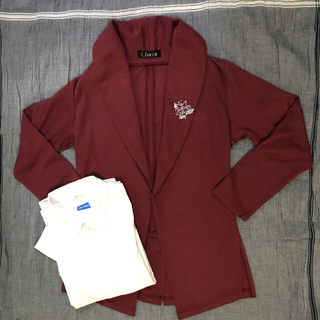 チャコット(CHACOTT)のお値下げしました⭐︎ YTJ 選抜ジャケット 140 白カッターシャツ 140(ダンス/バレエ)