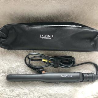 サロニアストレートアイロン(ブラック15mm)(ヘアアイロン)