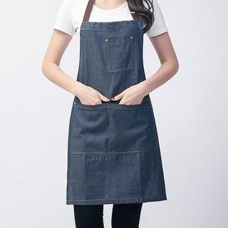 デニムエプロン 男女兼用 料理・キッチン用品(その他)