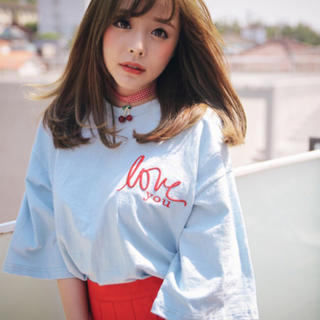 ミックスエックスミックス(mixxmix)の韓国 新品 Tシャツ(Tシャツ(半袖/袖なし))