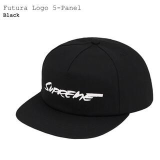 シュプリーム(Supreme)のSupreme Futura Logo 5-Panel Cap フューチュラ 黒(キャップ)