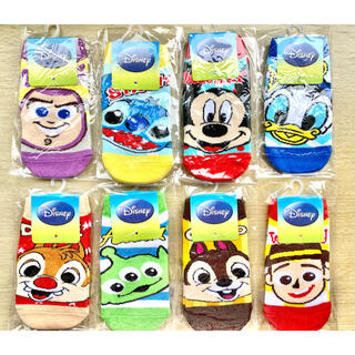 Disney - ●ディズニー キッズ靴下 ソックス 8足セット