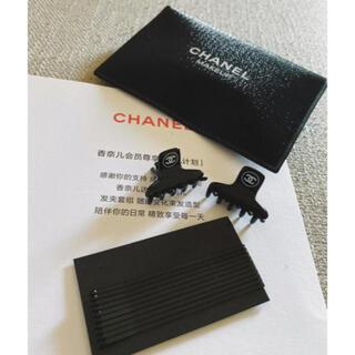 シャネル(CHANEL)のシャネル  ヘアピン クリップ ポーチ 3点セット 新品(ヘアピン)