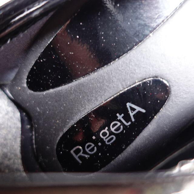 Re:getA(リゲッタ)の■Re:getA シューズ 黒 レディース レディースの靴/シューズ(その他)の商品写真