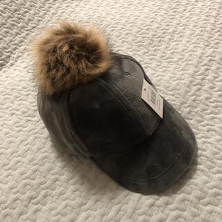 スリーコインズ(3COINS)のスリーコインズ ベロアキャップ(帽子)