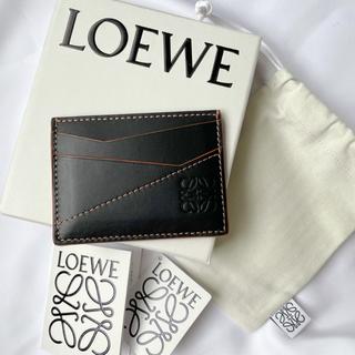 ロエベ(LOEWE)の■ LOEWE パズル ステッチ プレーン カードホルダー ■(名刺入れ/定期入れ)