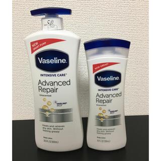 ユニリーバ(Unilever)のヴァセリン アドバンスドリペアボディローション 600ml+296ml(ボディローション/ミルク)