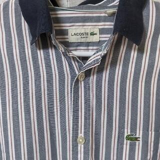 ラコステ(LACOSTE)のLACOSTE ラコステ ストライプシャツ(シャツ)