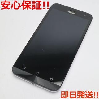 ゼンフォン(ZenFone)の美品 SIMフリー ZenFone2 Laser ZE500KL ホワイト (スマートフォン本体)