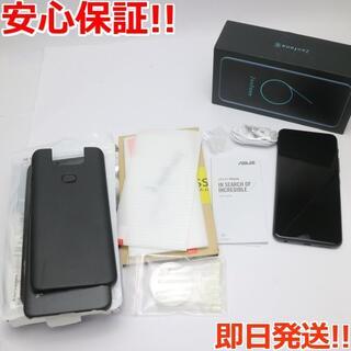 ゼンフォン(ZenFone)の美品 ZenFone 6 ZS630KL-BK128S6 (スマートフォン本体)