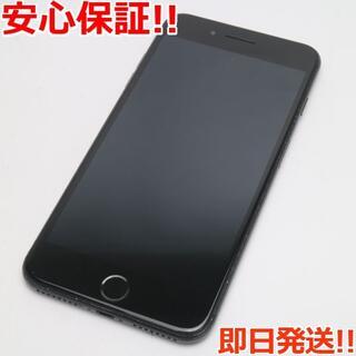 アイフォーン(iPhone)の美品 SIMフリー iPhone7 PLUS 256GB ブラック(スマートフォン本体)
