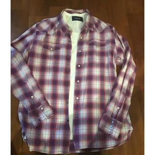 バックナンバー(BACK NUMBER)のチェックシャツ XL メンズ BLACK NUMBER(シャツ)