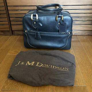 ジェイアンドエムデヴィッドソン(J&M DAVIDSON)のJ&M DAVIDSON MIA ミア レザーバッグ 中古美品(ボストンバッグ)