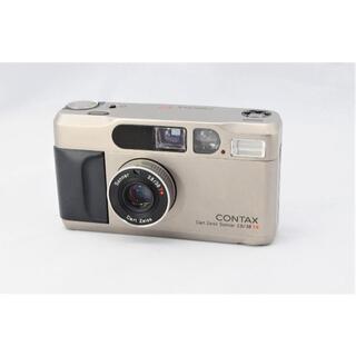 キョウセラ(京セラ)の■動作品■ CONTAX T2 最高の高級コンパクトフィルムカメラ 安心の動作(フィルムカメラ)