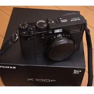 フジフイルム(富士フイルム)のkenn様専用、X100F ブラック(丸紐ストラップ、箱/取説など一式)(コンパクトデジタルカメラ)