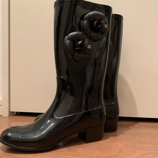 シャネル(CHANEL)のレインブーツ(レインブーツ/長靴)