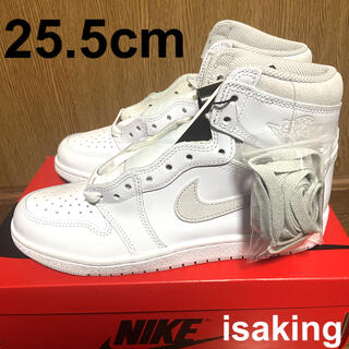 ナイキ(NIKE)のNIKE AIR JORDAN 1 HIGH 85 NEUTRAL GREY(スニーカー)