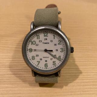 タイメックス(TIMEX)のTIMEX WEEKENDER VINTAGE オリーブ(腕時計(アナログ))