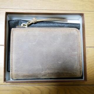 ツチヤカバンセイゾウジョ(土屋鞄製造所)のSLOW クーズー/L zip short wallet(折り財布)