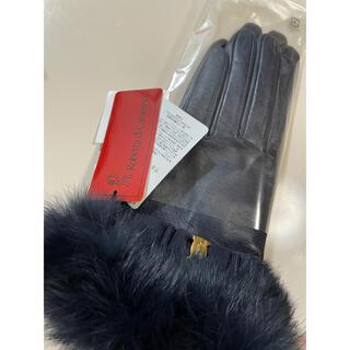 ロベルタディカメリーノ(ROBERTA DI CAMERINO)のグローブ新品 ファー革手袋(手袋)