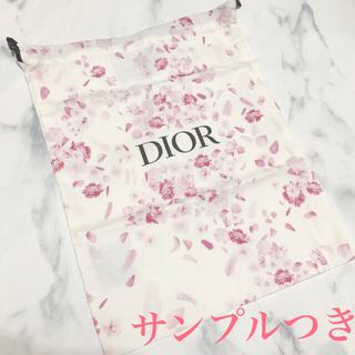 ディオール(Dior)のディオール DIOR 花びら 巾着 ポーチ 袋 ノベルティ 非売品 (ポーチ)