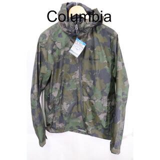 Columbia - 匿名即日発可!Columbiaカモフラレインマウンテンジャケット/新品未使用M