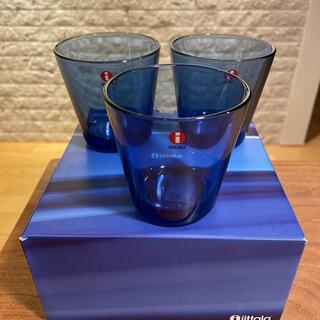 イッタラ(iittala)のイッタラ カルティオ タンブラー ウルトラマリンブルー(グラス/カップ)