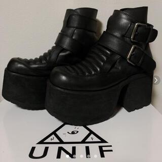 ユニフ(UNIF)のコレ可愛い‼️ユニフの完売ショートブーツ❤️✨(ブーツ)