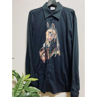 コムデギャルソン(COMME des GARCONS)の【個性派向け】sss world corp ホースアートシャツ (シャツ)