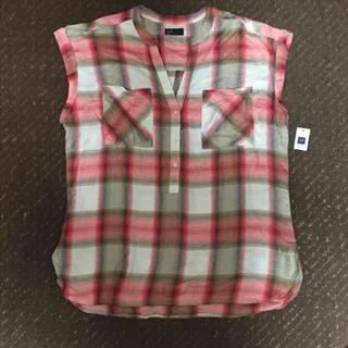 ギャップ(GAP)のGAP*チェックシャツ(シャツ/ブラウス(半袖/袖なし))