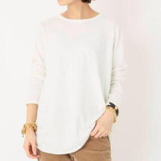 ドゥーズィエムクラス(DEUXIEME CLASSE)のDeuxieme Classe Layering Tシャツ ホワイト(Tシャツ(長袖/七分))