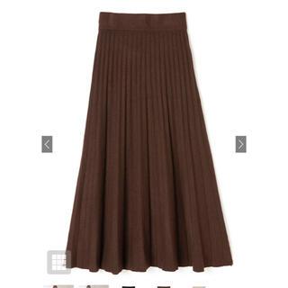 グレイル(GRL)のニットプリーツスカート グレイル(ロングスカート)
