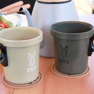 ドッペルギャンガー(DOPPELGANGER)のDOD 放浪ソロリマグ カーキ+タン (食器)