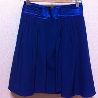 【送料込】MANGOひざ丈スカート(ひざ丈スカート)