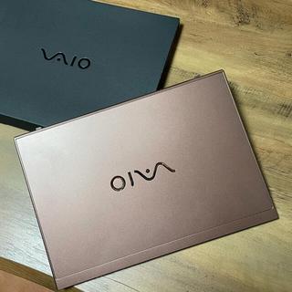 バイオ(VAIO)のVAIO SX14 VJS141C12N ブラウン 1TB SIMフリー(ノートPC)