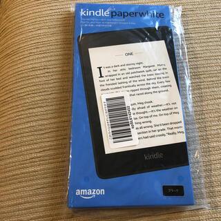 Kindle Paperwhite 防水機能搭載  8GB ブラック 広告つき (電子ブックリーダー)